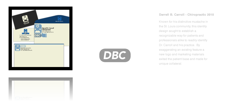 Darrell B. Carroll Chiropractic Logo Design